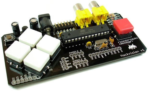build your own arduino game console А Цікаво pinterest diybuild your own arduino game console
