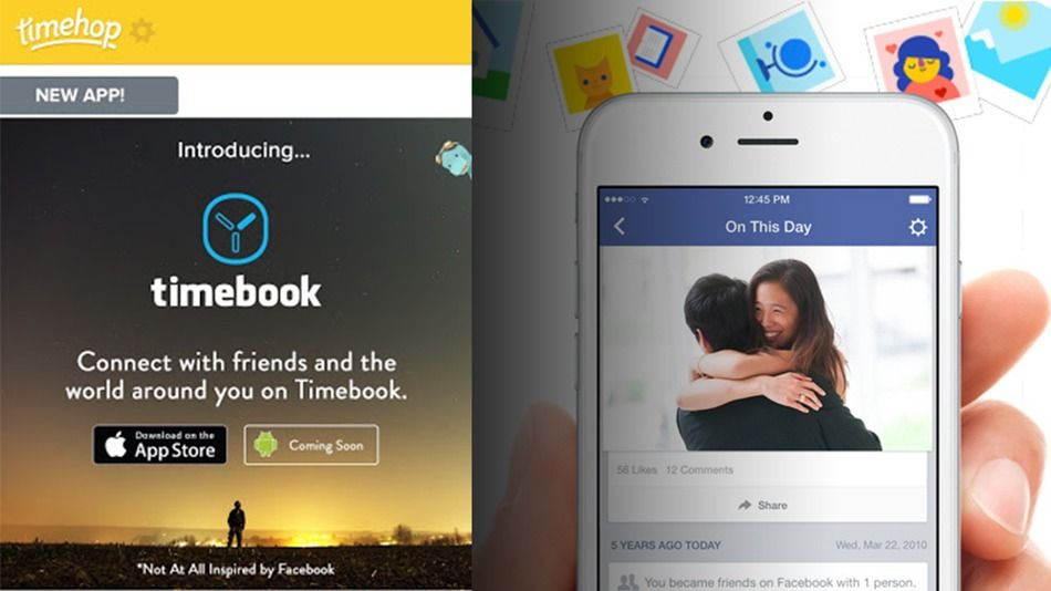 Timehop throws some April Fools' shade at Facebook