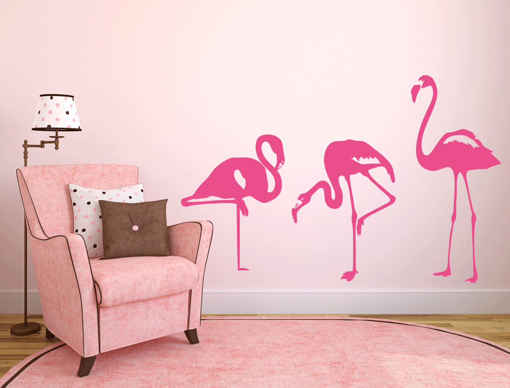 On a envie de flamants roses dans la maison pour un for Deco flamant rose