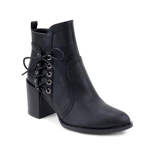 Olivia Miller East Village ... Women's Lace-Up Ankle Boots nIhh7