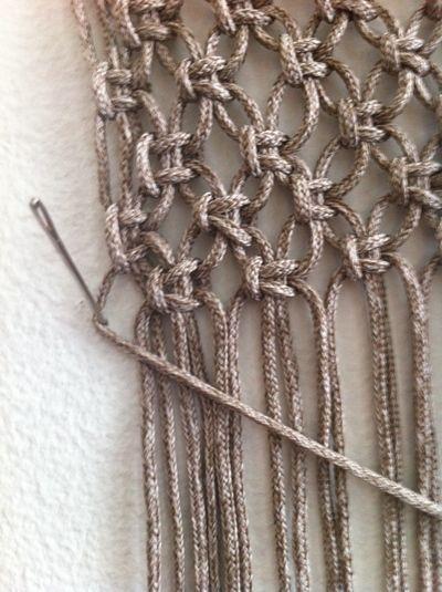 How To Make 6 Common Macrame Knots Redheartyarns