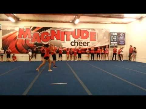 Join.MagnitudeCheer.com (818) 280-8044  Highlights from our team parent practice!  Experience our first-rate tumbling classes, divided by ability to increase your child's physical development, with an emphasis on fitness and fun.  Gain confidence, increase mental and physical strength, teach respect for self and others, and instill integrity while developing well-rounded individuals.  Tumbling classes, cheer classes, All-Star teams, private lessons, birthday parties, and more available…