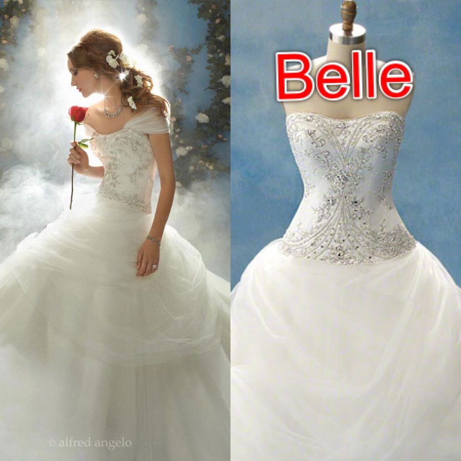 Disney wedding dresses- Belle
