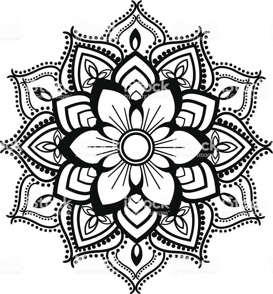 Zum mandala ausmalen frauen Herz Mandala