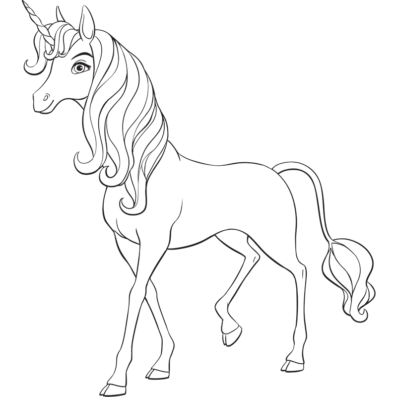 mia and me coloring pages - photo#26