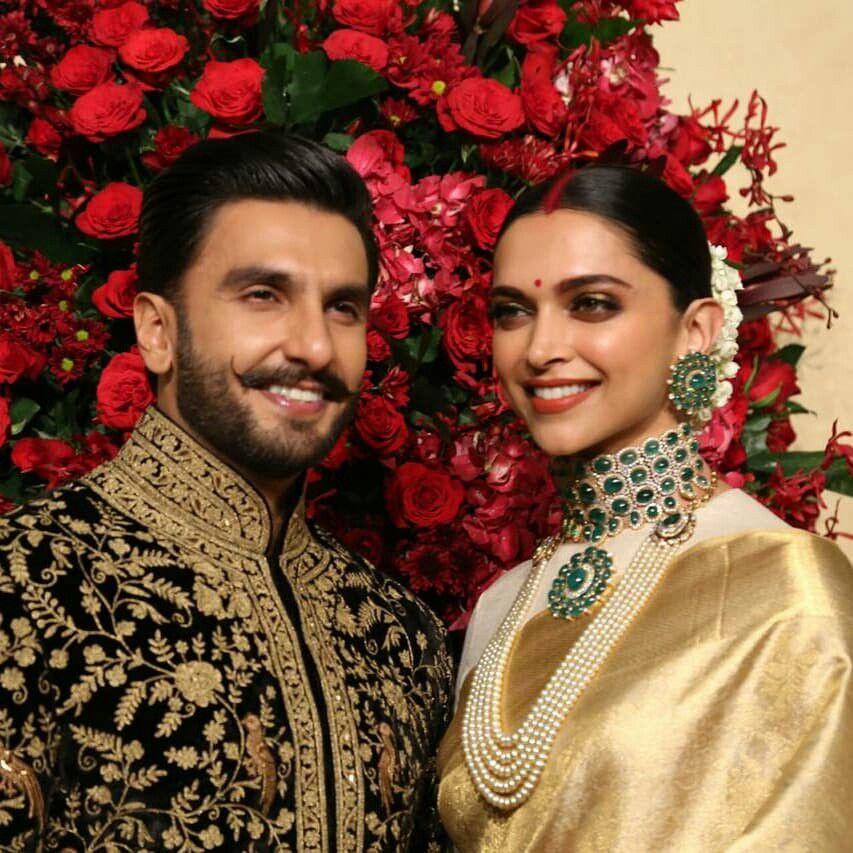 Deepika Padukone Sindur Bollywood Wedding Deepika Ranveer Simple Prom Dress