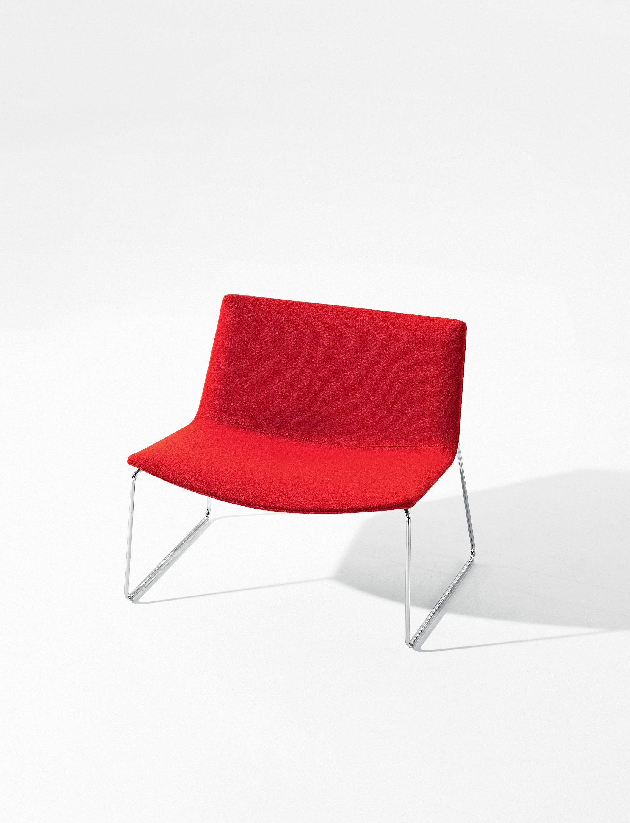 Paint it red Catifa 80 design by Lievore Altherr Molina arper