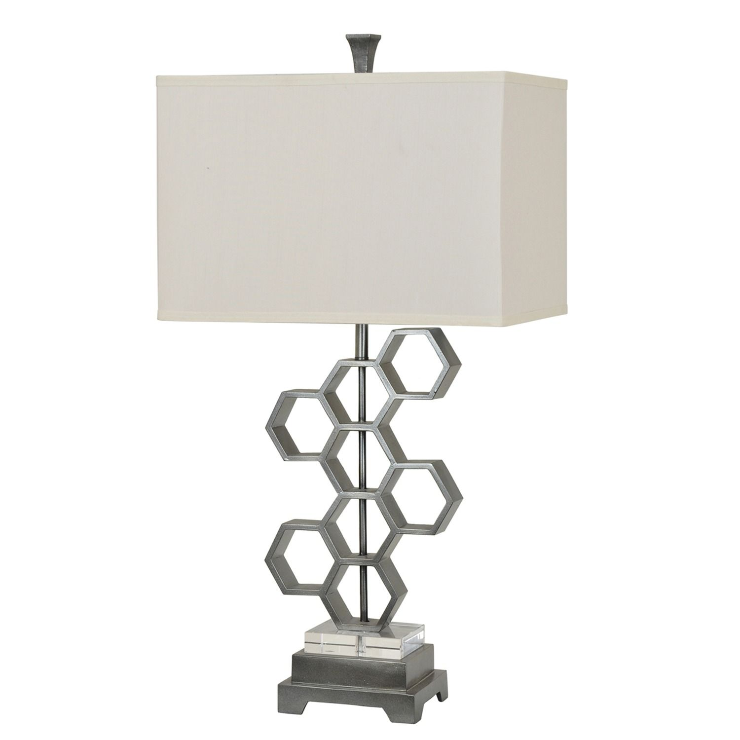 Molecular table lamp crestview collection home gallery stores crestview collection molecular table lamp x x 11 geotapseo Gallery
