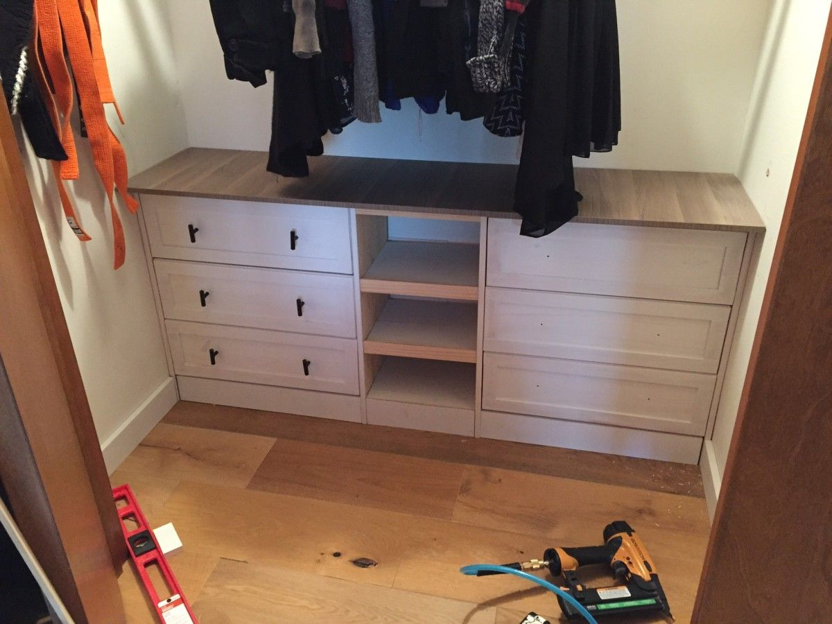 Built In Idea For The Bottom Of The Closet   RAST Built In Hack