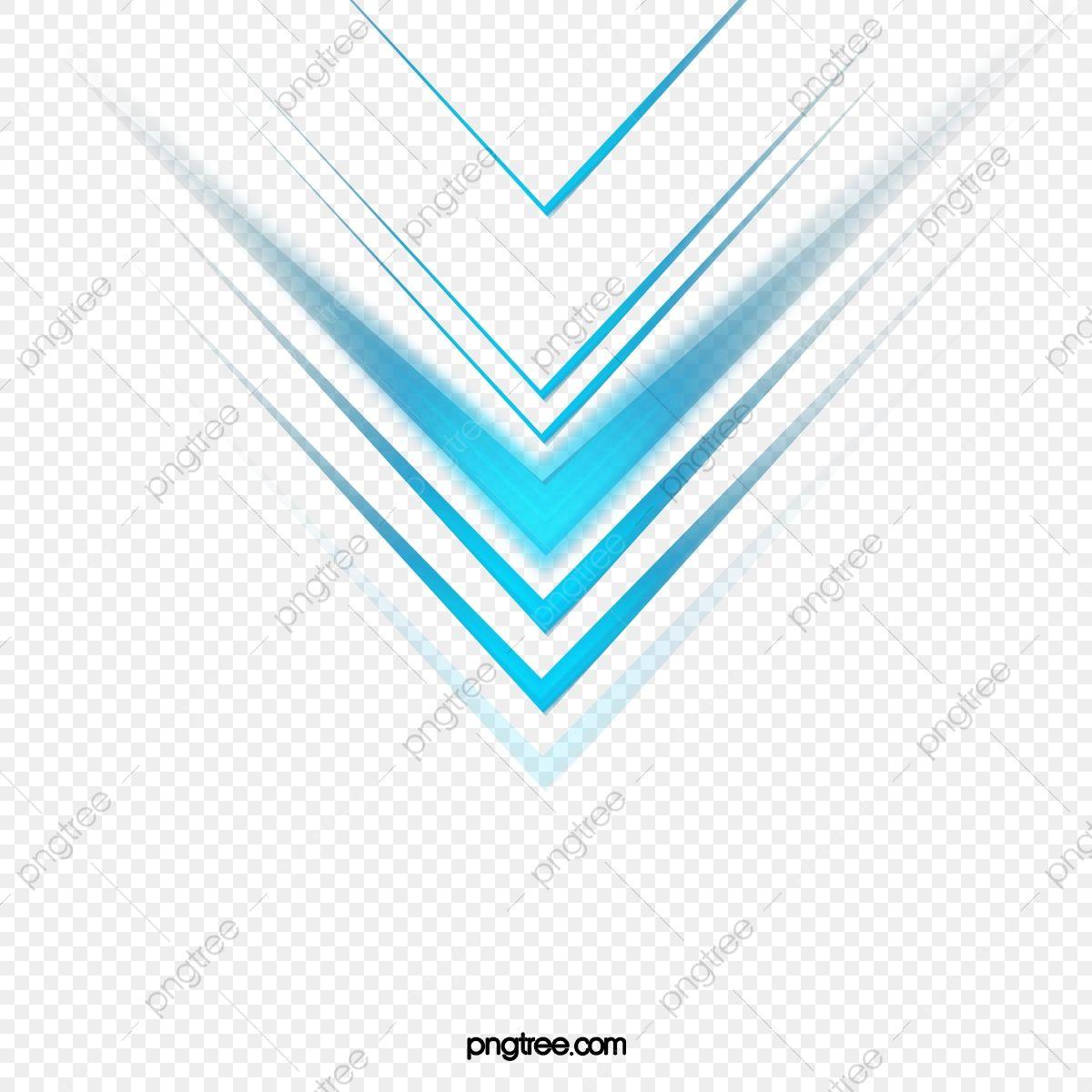 Arrow Blue Light Effect Kejizhiguang Science Fiction Arrow Png Transparent Clipart Image And Psd File For Free Download Clip Art Geometric Background Clipart Images