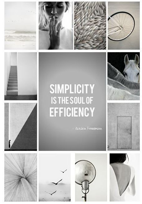 Minimalism minimalism thoughts pinterest for Minimalistische lebensweise