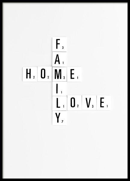 Quotes | Posters | Typographic | desenio.com