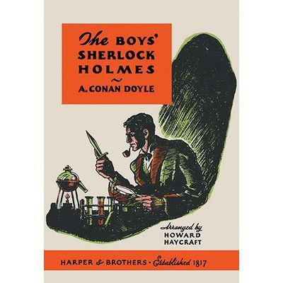 Buyenlarge The Boys Sherlock Holmes by Charles Livingston Bull Vintage Advertisement