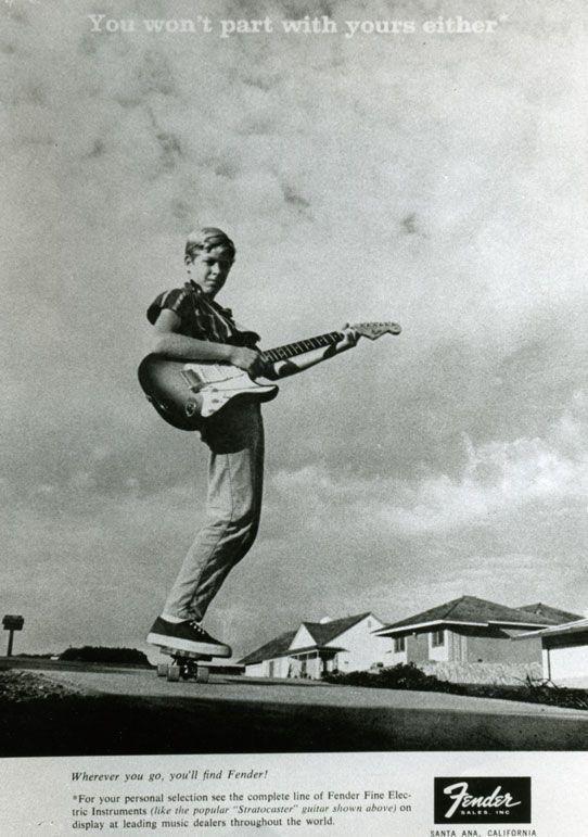 Vintage Fender Print Ads #fenderguitars