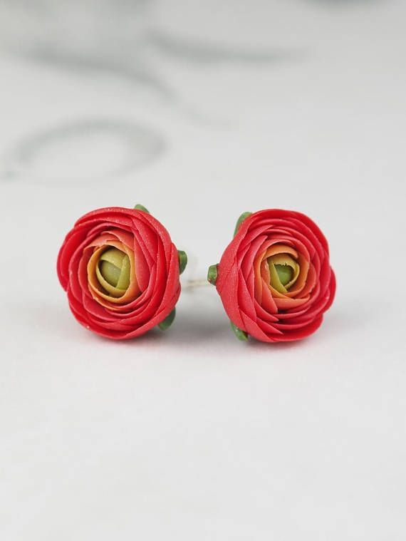 Pin By Inspohome On Discover Handmade Floral Jewellery Small Earrings Studs Flower Earrings Studs