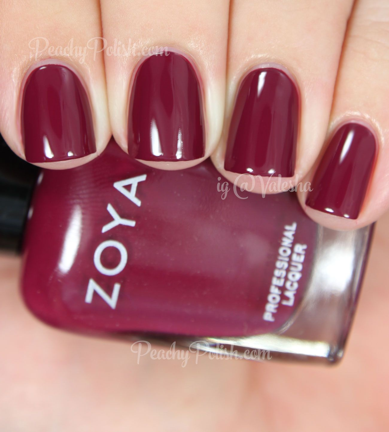 Zoya Veronica   Fall 2014 Entice Collection   Peachy Polish ...