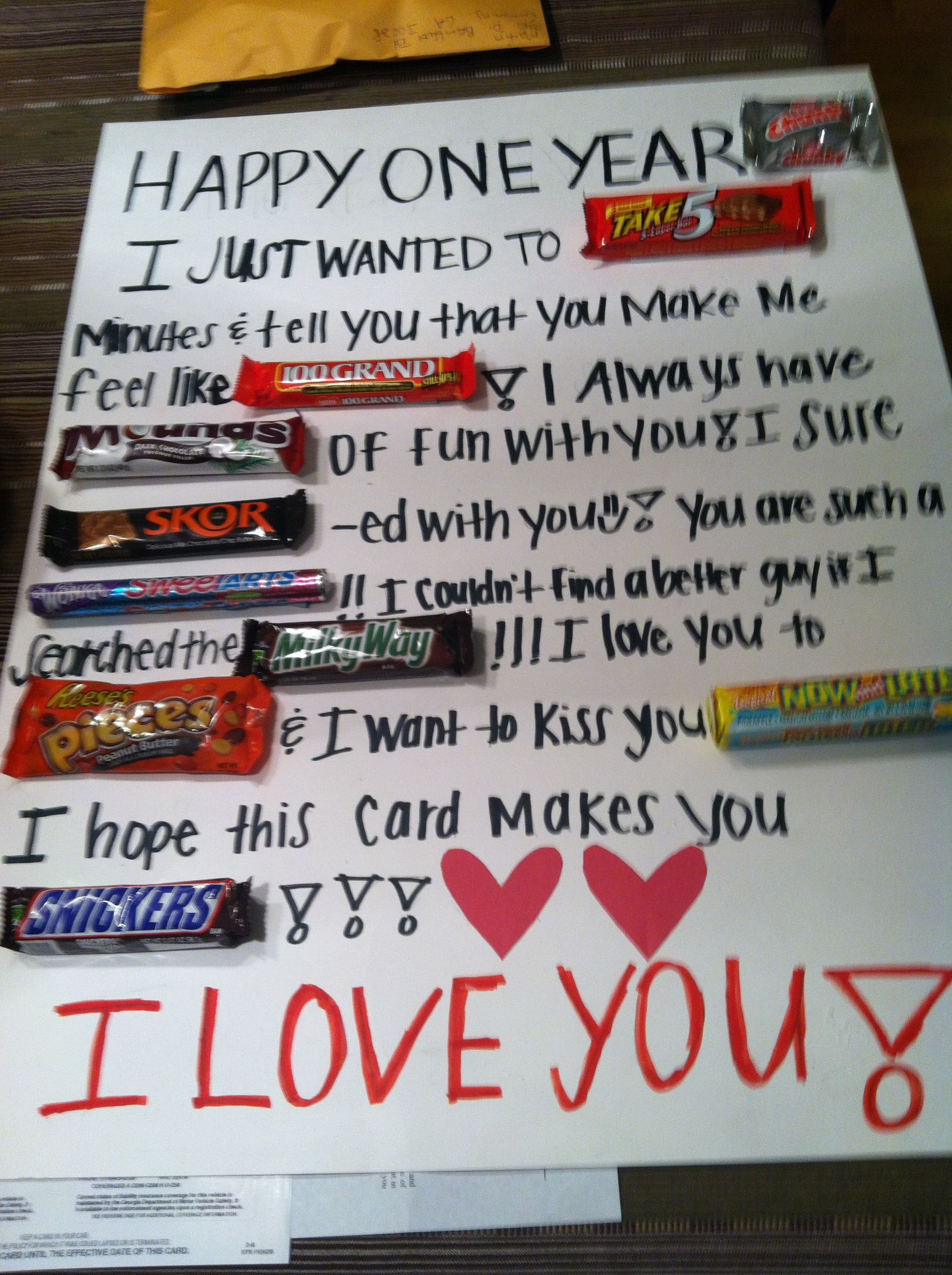 Candy Bar Card I Will Do This Valentine S Day Crafts For