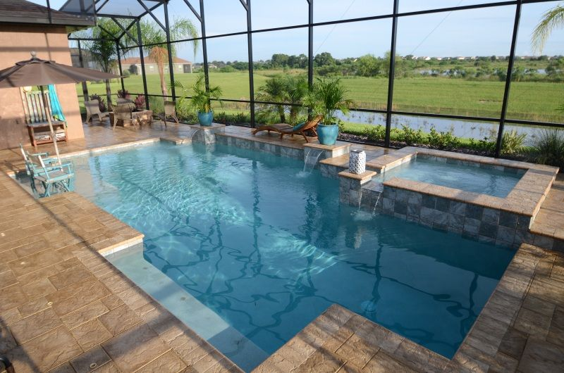 Attractive Orlando Swimming Pool Prices | Sanford Pool Design | The Villages