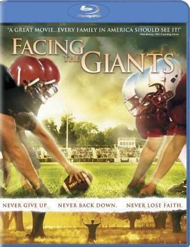 Facing The Giants Christian Movie Film Dvd Blu Ray Sherwood Pictures Inspirational Movies Family Movies Christian Movies