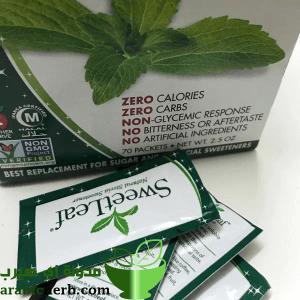 ستيفيا اكياس التحلية الطبيعية وبديل للسكر من اي هيرب مدونة اي هيرب بالعربي Calorie Carbs Zero Calories
