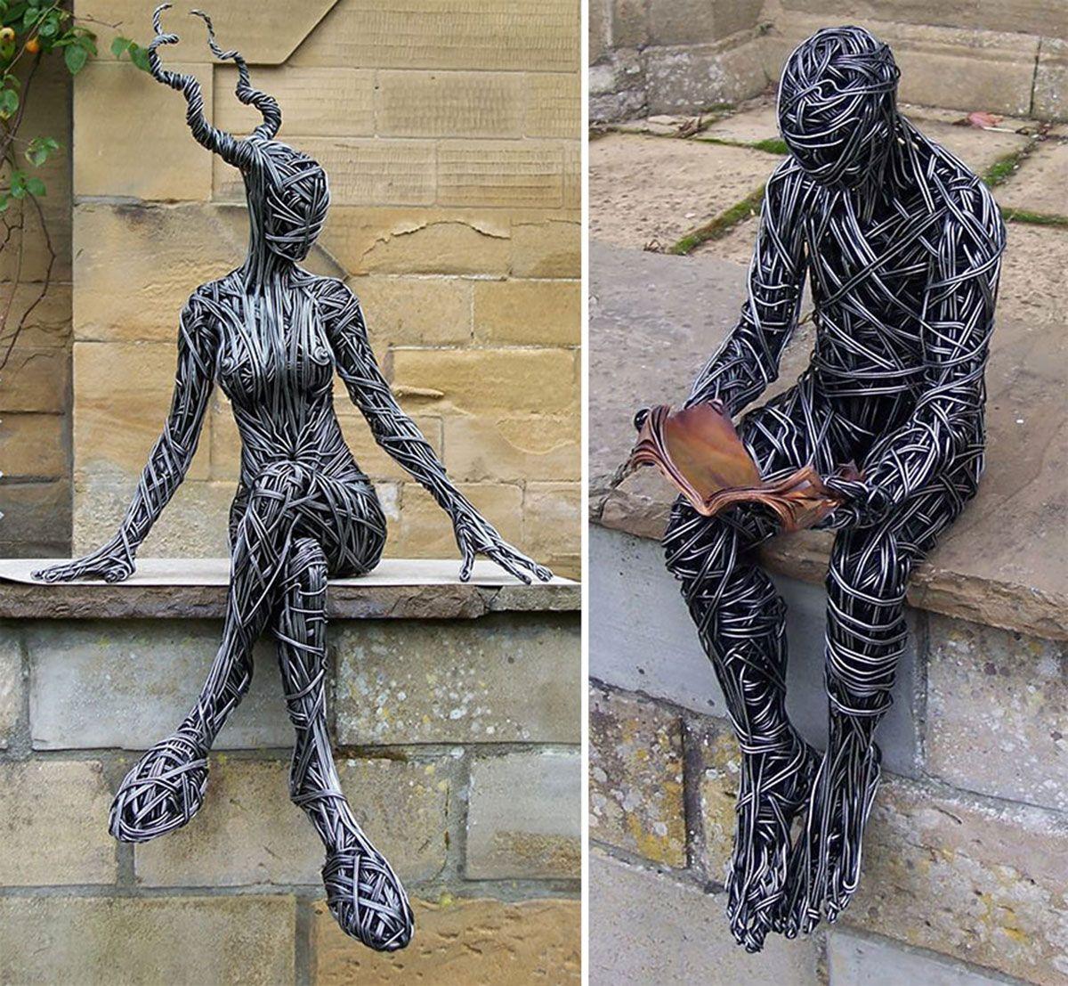 sculpture fer