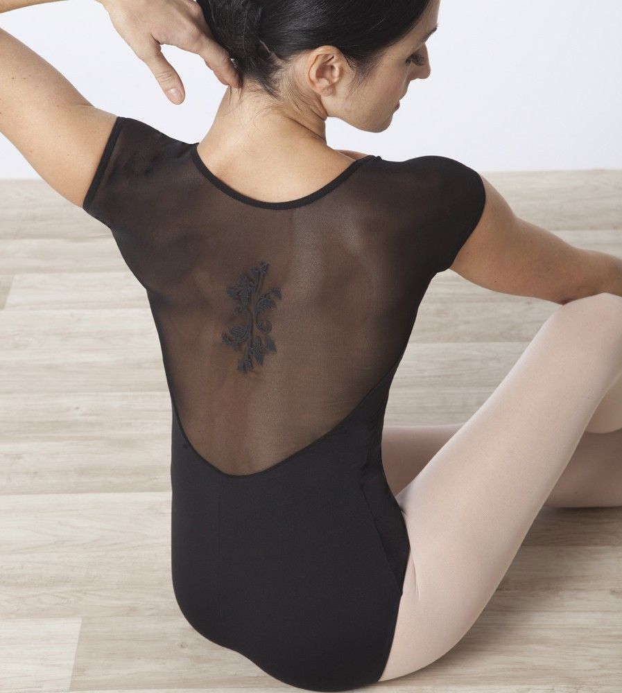 Leotard with tattoo on the back  -)  7316a9429