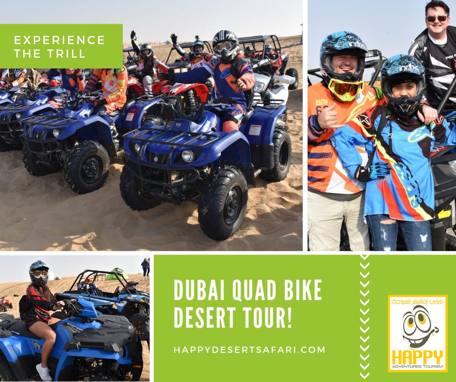 Quad Bike Dubai. Enjoy the quad biking in Dubai desert on