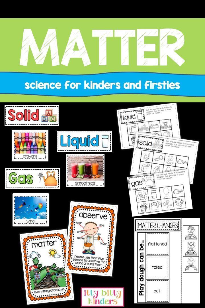 Matter Unit – Primary Grades