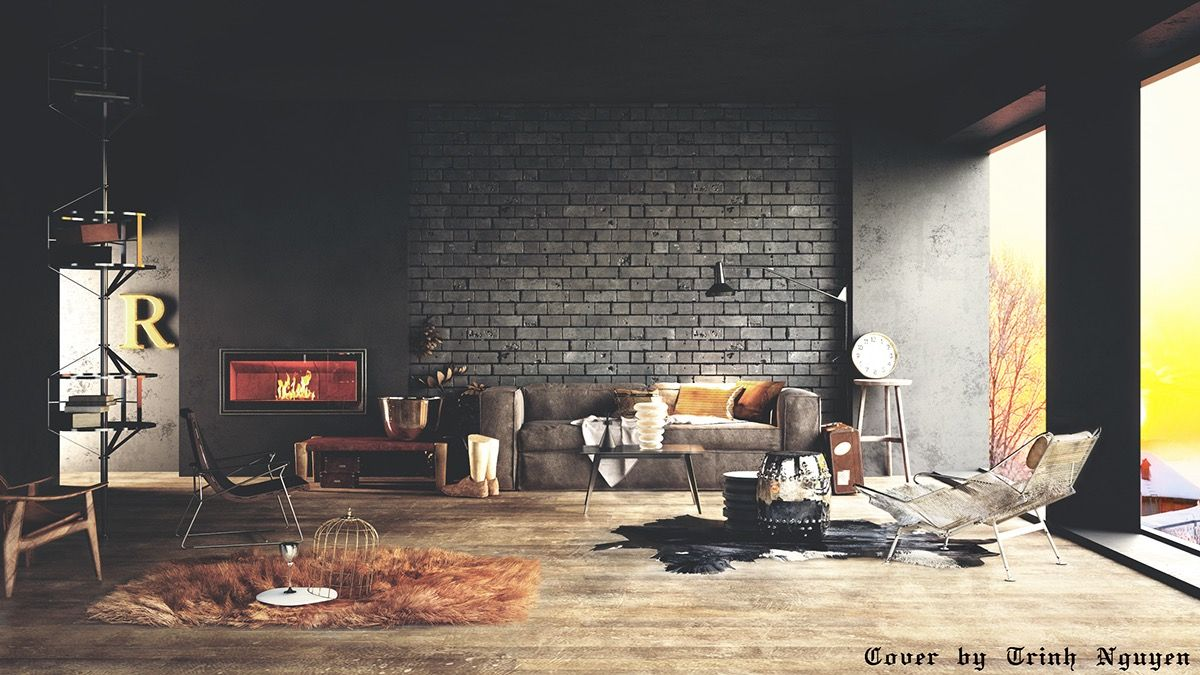 Wall Texture Designs For The Living Room: Ideas U0026 Inspiration