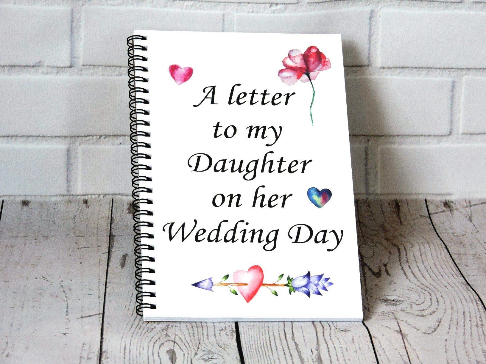 37+ Letter to daughter on wedding day inspirations