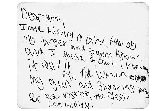 Letters From Summer Camp Dear Mom Dad Help Visualizer Wsj Letter