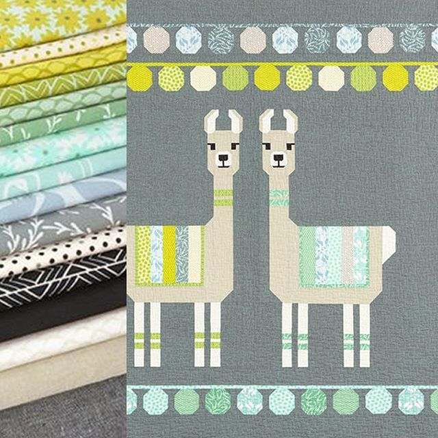 Meet Lloyd Lola Quilt Kits Available From Sewinspiredquiltshop