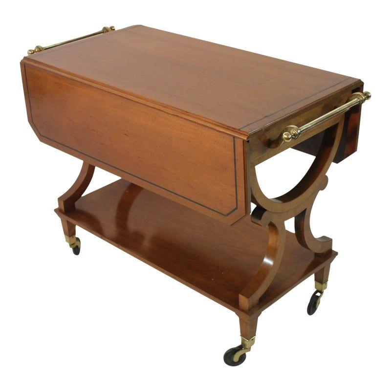 Kaplan Furniture Beacon Hill Serving Cart Boston Furniture