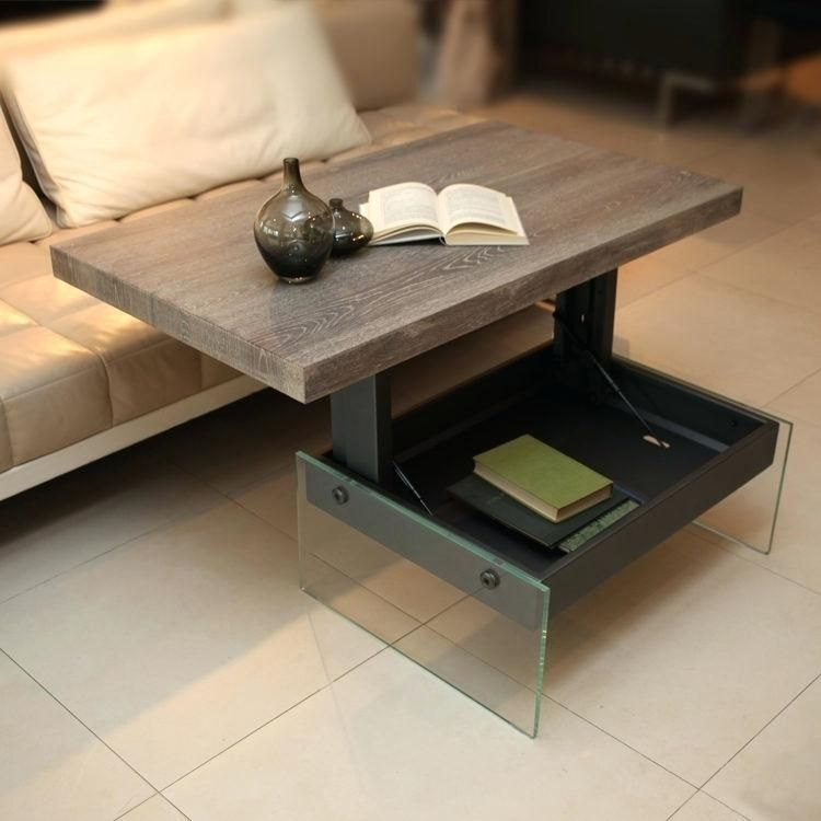 Eating Table For Sofa Coffee Table That Raises To Table Height