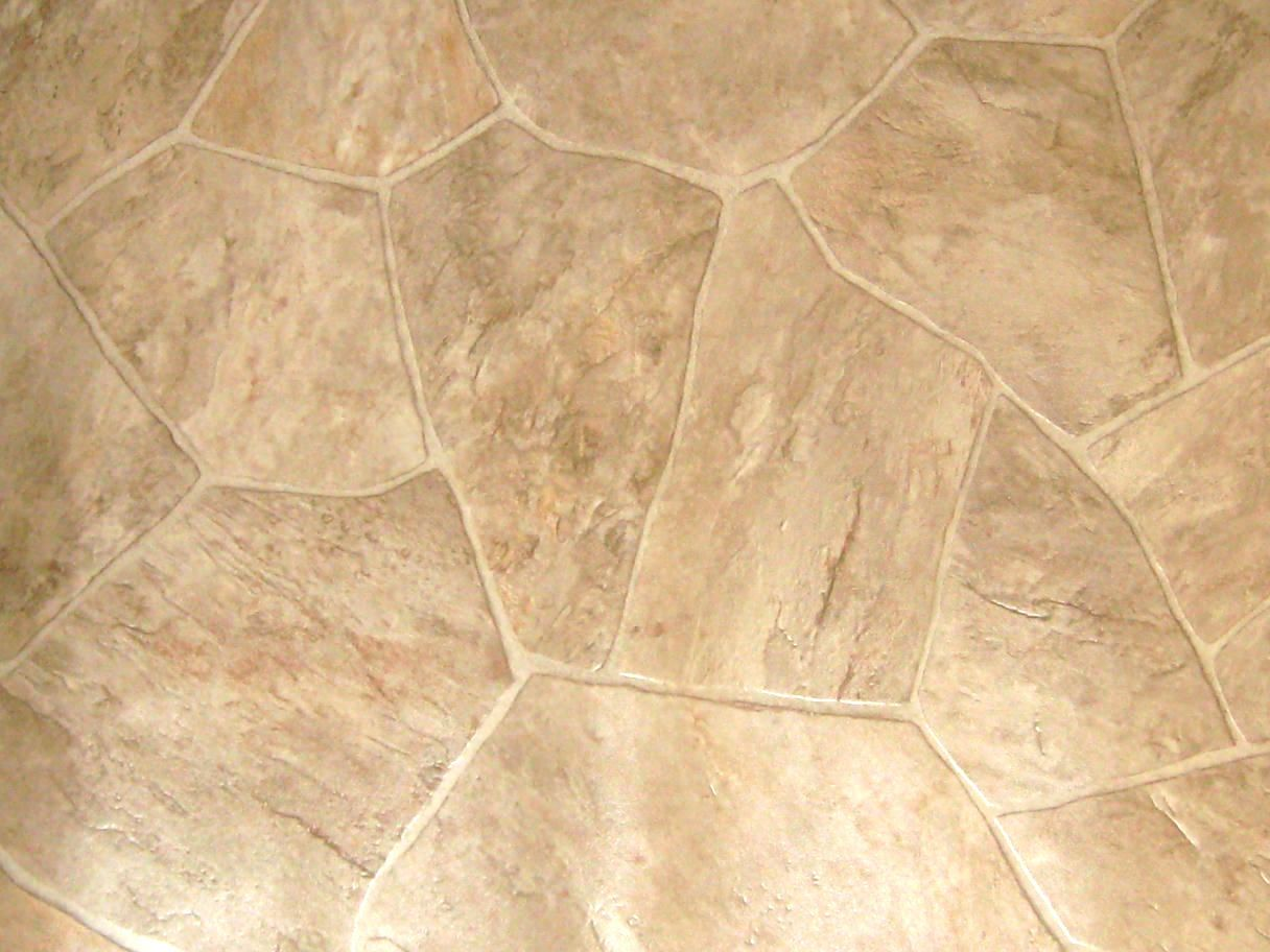 Linoleum that looks like rocks more samples coming soon for Kitchen linoleum tiles