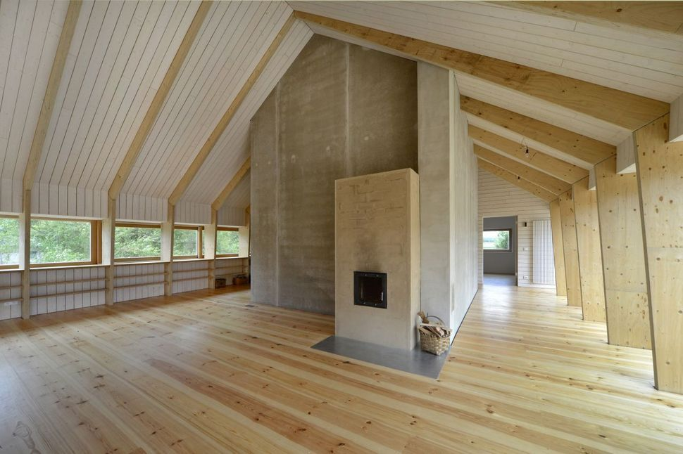 Exposed Trusses Ceiling Google Search In 2019 Modern