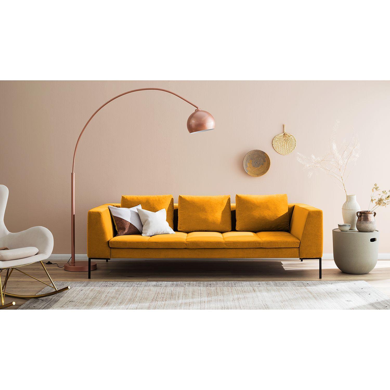 Sofa Madison 3 Sitzer Samt Arquitetura E Decoracao Lampada Decoracao