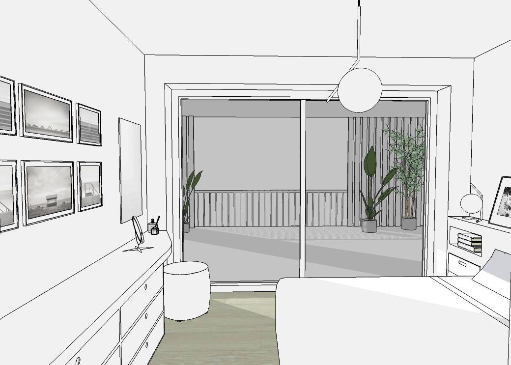 progetto di arredo camera da letto #interiordesign #arredamento ...