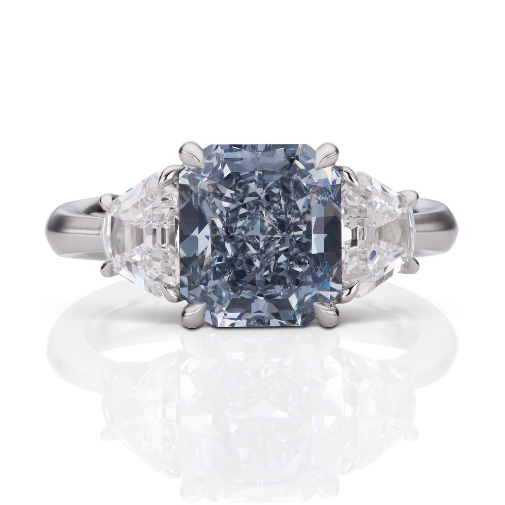 ring studio unique colour natalie engagement diamond product mendham d rings internally halo claudia flawless