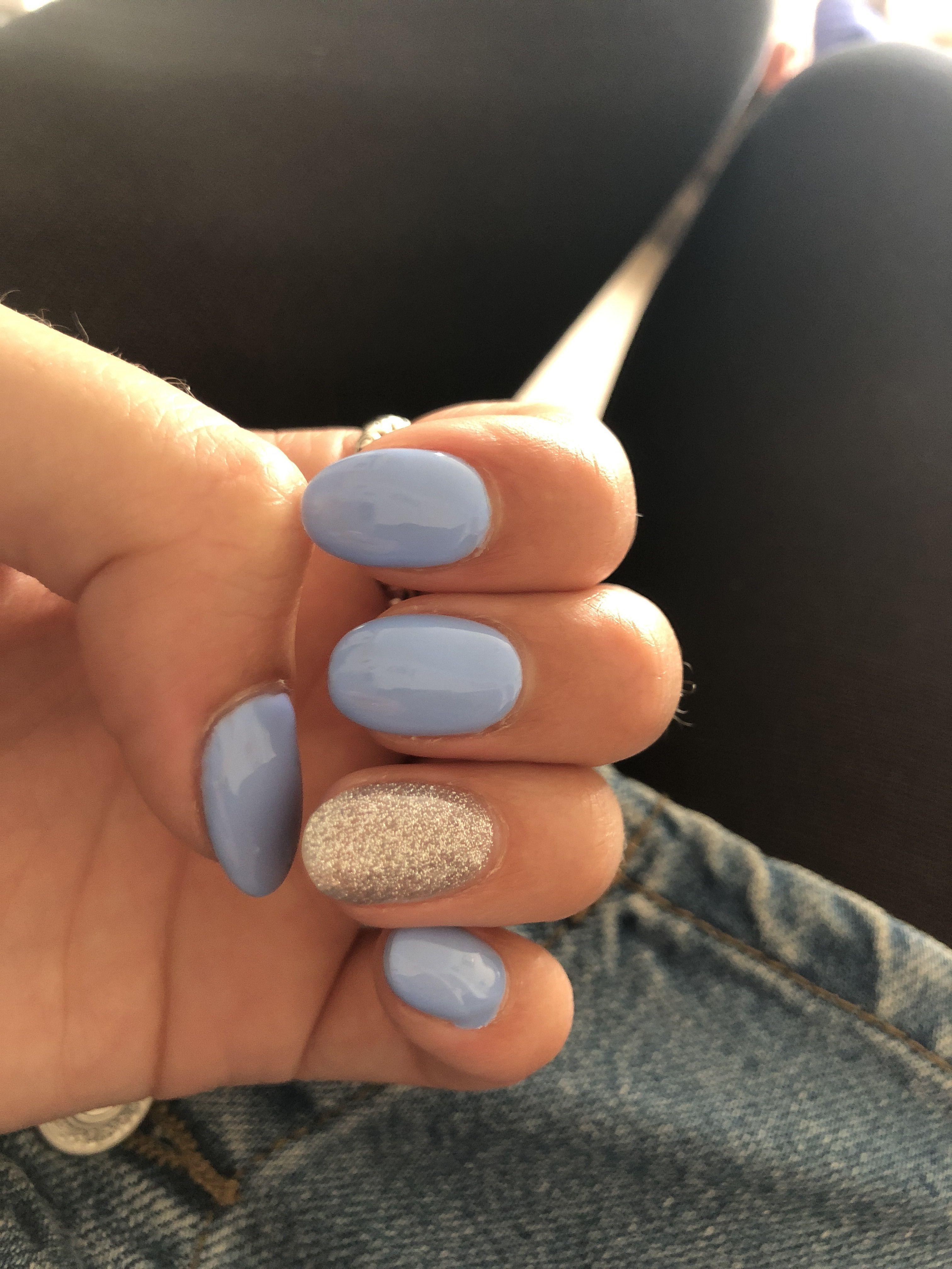 Princess Acrylic Almond Silver Finger Summer Nails Shirt Baby Blue Ringbaby Blue Nails Baby Blue Nails Baby Blue Acrylic Nails Almond Acrylic Nails