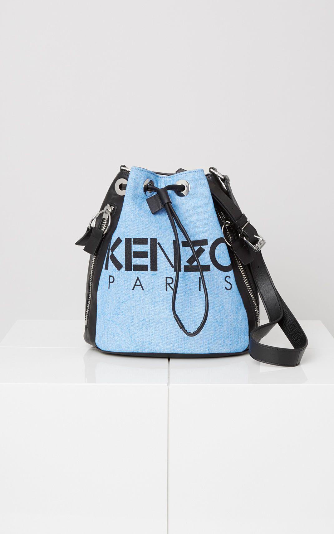 afc4e6b9c0 KENZO Kanvas Bucket Bag for Kenzo | Kenzo.com | Wish List Summer ...