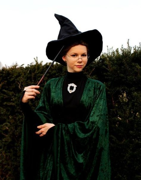 Professor McGonagall from Harry Potter Cosplay