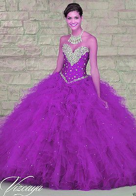 HOT Red/blue/Purple Formal Wedding Dress Bridal Ball Gown Custom Size or color
