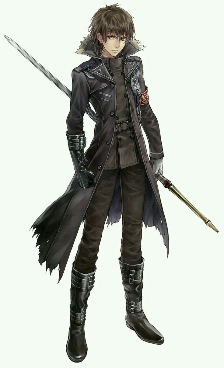 Loic Monster Hunter Character Art Anime Guys Character Design