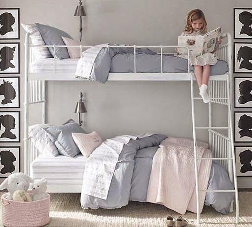 Claves para decorar dormitorios infantiles y juveniles con for Cuartos para ninas literas