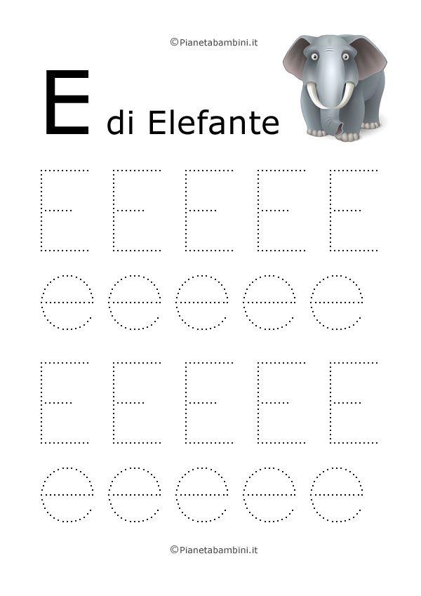Popolare Schede di pregrafismo di tutte le lettere dell'alfabeto (a-z) in  OE32