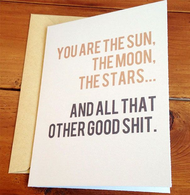 Most original Valentines day cards Saying I LOVE YOU in a – Funny Valentines Day Cards Sayings
