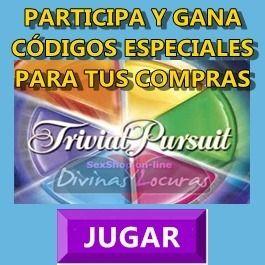#TRIVIAL DE #SEXO  #JUEGA CON NOSOTROS Y CONSIGUE #CÓDIGOS ESPECIALES PARA TUS COMPRAS