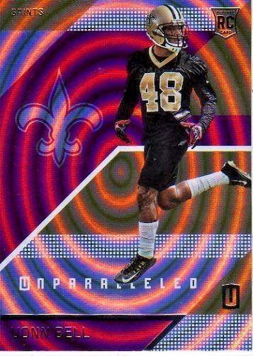 2016 Panini Unparalleled Purple #199 Vonn Bell Team: New Orleans Saints