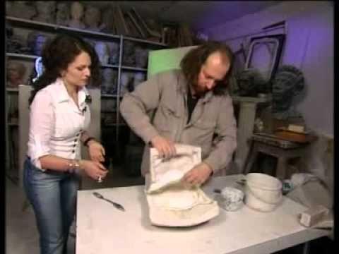 Гипсовые лотосы от Юлии Маркос и Василия Селиванова